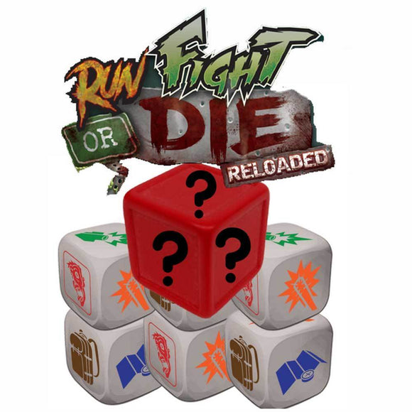 Run, Fight, or Die: Reloaded Custom Dice Pack (Kickstarter Pre-Order Special) Kickstarter Board Game Accessory Grand Gamers Guild
