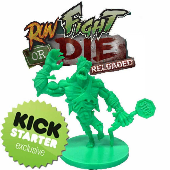Run, Fight, or Die: Reloaded Extra Mutant Zombie (Kickstarter Pre-Order Special) Kickstarter Board Game Supplement Grey Fox Games