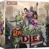 Run, Fight, or Die! Reloaded: Have a Gun Pledge w/Expansion (Kickstarter Special) Kickstarter Board Game Grey Fox Games KS000849A