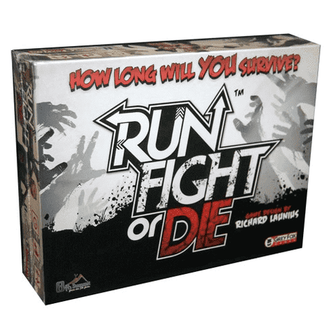 Run Fight or Die! Retail Board Game 8th Summit 0661799914833 KS000637