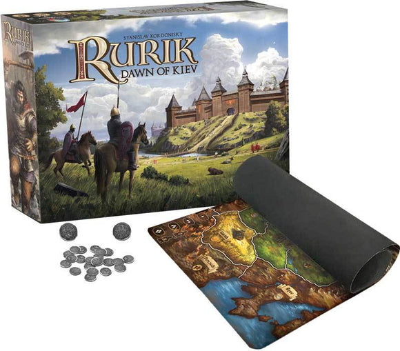 Rurik: Dawn of Kiev Prince Pledge plus Playmat Bundle (Kickstarter Pre-Order Special) Kickstarter Board Game PieceKeeper Games