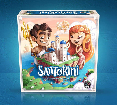 Santorini: Standard box Retail Board Game Roxley Games 9780992126841 KS000117B