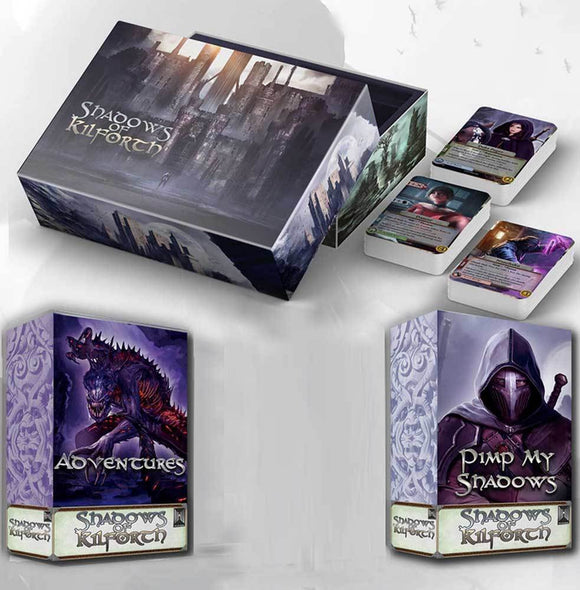 Shadows of Kilforth: Core Game Plus Expansions Bundle (Kickstarter Pre-Order Special) Kickstarter Board Game Hall or Nothing Productions