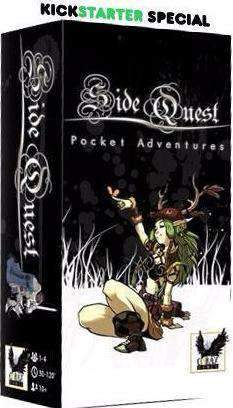 Side Quest (Kickstarter Special) Kickstarter Card Game Corax Games