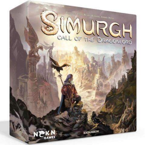 Simurgh: Call of the Dragon Lord - Ding & Dent (Kickstarter Special) Kickstarter Board Game Expansion Baldar