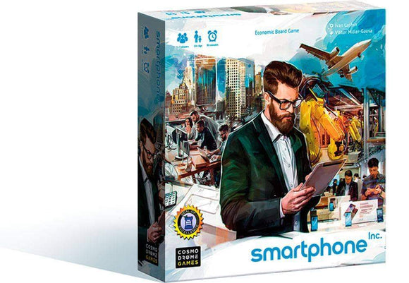Smartphone Inc.: CEO Pledge Level Bundle (Kickstarter Pre-Order Special) Kickstarter Board Game Cosmodrome Games KS000957A