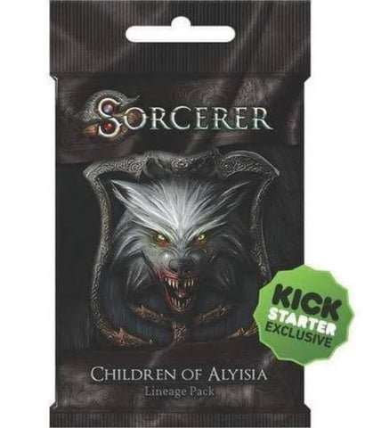 Sorcerer: Children of Alyisia Lineage Pack (Kickstarter Pre-Order Special) Kickstarter Card Game Expansion White Wizard Games KS000819E