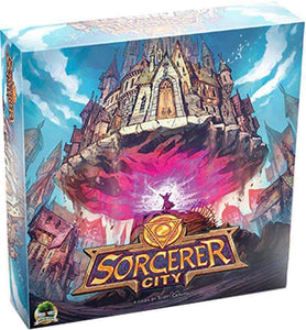 Sorcerer City: Deluxe Edition (Kickstarter Pre-Order Special) Kickstarter Board Game Druid City Games
