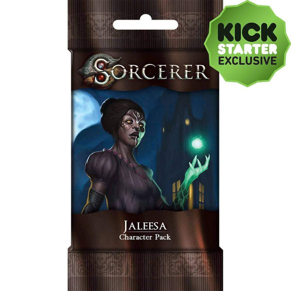 Sorcerer: Jaleesa Character Pack (Kickstarter Pre-Order Special) Card Game Expansion White Wizard Games KS000819F