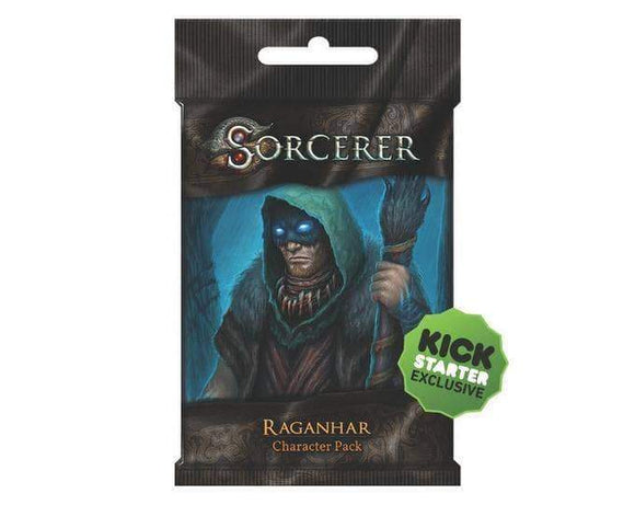 Sorcerer: Raganhar Character Pack (Kickstarter Pre-Order Special) Card Game Geek, Kickstarter Games, Games, Kickstarter Card Games Supplements, Card Games Supplements, White Wizard Games, Sorcerer Raganhar Character Pack, The Games Steward Kickstarter Edition Shop, Action Points, Card Drafting White Wizard Games