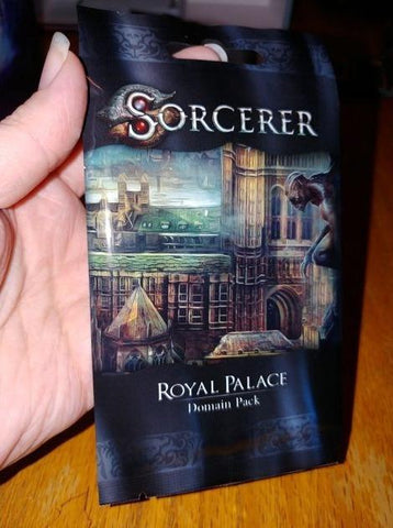 Sorcerer: Royal Palace Domain Pack (Kickstarter Pre-Order Special) Card Game Expansion White Wizard Games KS000819H