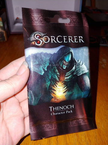 Sorcerer: Thenoc Character Pack (Kickstarter Pre-Order Special) Card Game Expansion White Wizard Games KS000819G