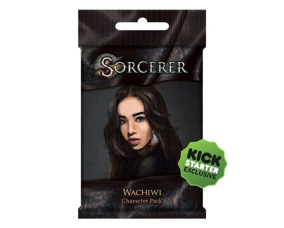 Sorcerer: Wachiwi Character Pack (Kickstarter Pre-Order Special) Card Game Geek, Kickstarter Games, Games, Kickstarter Card Games Supplements, Card Games Supplements, White Wizard Games, Sorcerer Wachiwi Character Pack, The Games Steward Kickstarter Edition Shop, Action Points, Card Drafting White Wizard Games