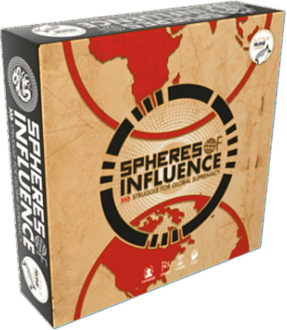 Spheres of Influence: Struggle For Global Supremacy (Kickstarter Special) Kickstarter Board Game Little Nuke Games