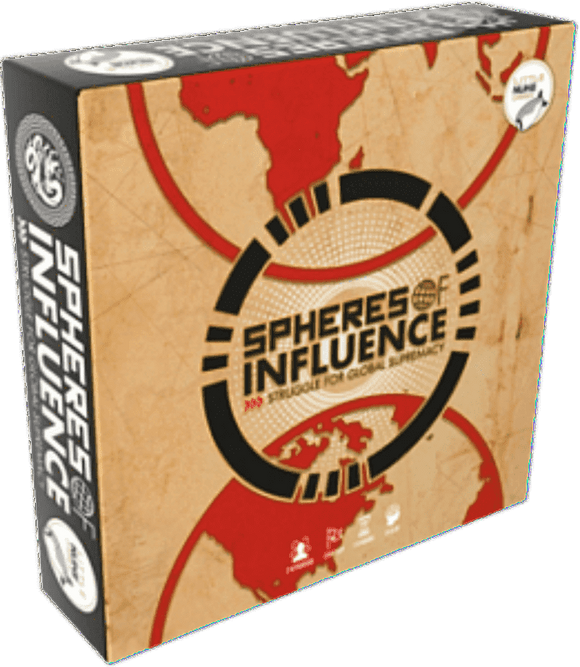 Spheres of Influence: Struggle For Global Supremacy (Retail Edition) Kickstarter Board Game Little Nuke Games