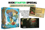 Spirit Island plus Branch & Claw Expansion Bundle plus Serpent Slumbering Beneath The Island & Heart of Wildfire Promo-Spirits (Kickstarter Special) Kickstarter Board Game Greater Than Games (Fabled Nexus) 0798304339291 KS000634