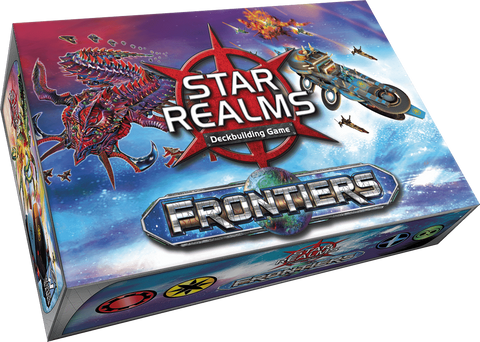 Star Realms: Frontiers (Kickstarter Special) Kickstarter Board Game White Wizard Games KS000717A