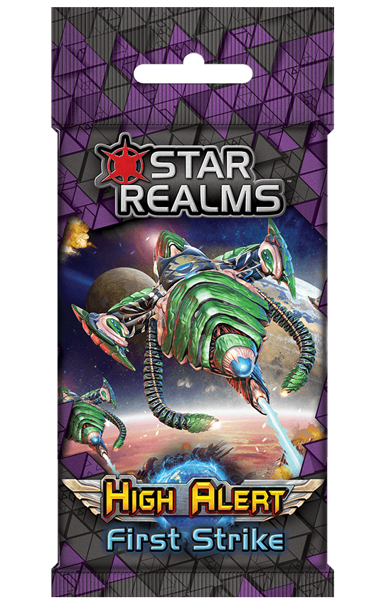 Star Realms: High Alert First Strike (Kickstarter Pre-Order Special) Kickstarter Card Game Expansion Wise Wizard Games KS000717G