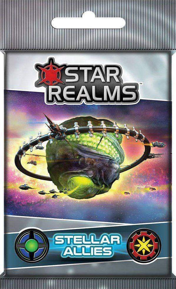 Star Realms: Stellar Allies (Kickstarter Pre-Order Special) Kickstarter Card Game Expansion White Wizard Games KS000717D