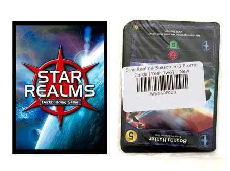 Star Realms: Year 2 Promo Pack Retail Board Game Supplement White Wizard Games KS000717