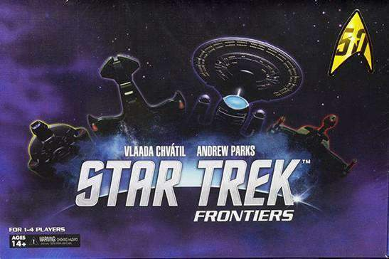 Star Trek Frontiers Retail Board Game WizKids