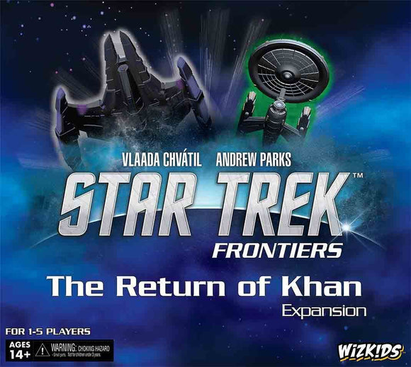 Star Trek Frontiers: The Return of Khan Retail Board Game Expansion WizKids