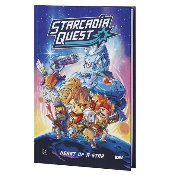 Starcadia Quest Comic Book Plus Promos Bundle (Kickstarter Pre-Order Special) Kickstarter Board Game Accessory CMON KS000851N