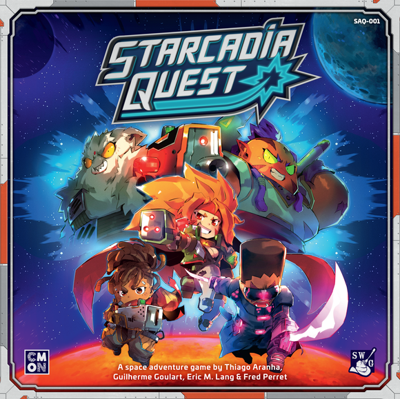 Starcadia Quest: Companion Pack (Kickstarter Pre-Order Special) Board Game Geek, Kickstarter Games, Games, Kickstarter Board Games Supplements, Board Games Supplements, CMON Limited, Spaghetti Western Games, Starcadia Quest, The Games Steward Kickstarter Edition Shop, Dice Rolling CMON Limited