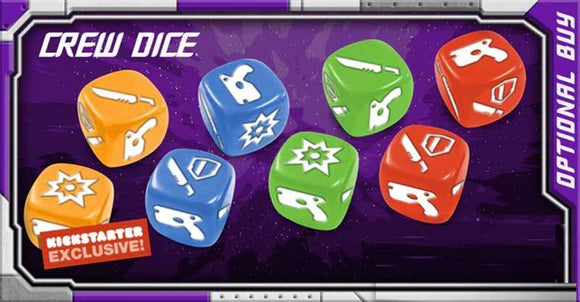 Starcadia Quest: Crew Dice (Kickstarter Pre-Order Special) CMON Limited
