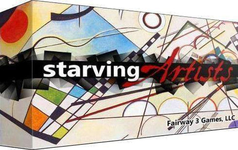 Starving Artists Plus Custom Play Mat (Kickstarter Special) Kickstarter Board Game Fairway 3 Games 0735201966038 KS000097