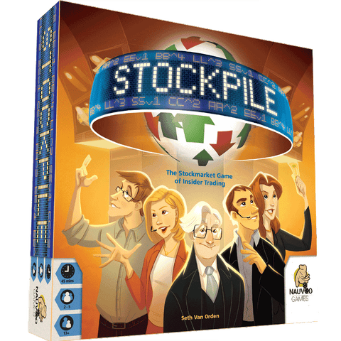 Stockpile Retail Board Game GoKids 玩樂小子 0751354140859 KS000118