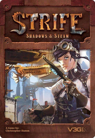 Strife: Shadows & Steam (Kickstarter Special) Kickstarter Card Game V3G 0634934990238 KS000162