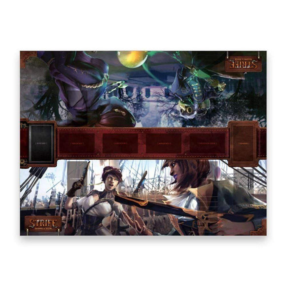 Strife: Shadows & Steam playmat Retail Card Game Accessory V3G KS000162A
