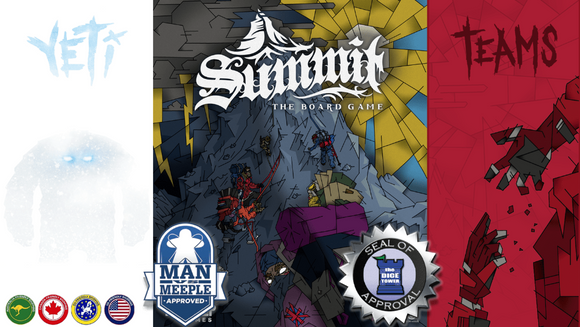 Summit: The Board Game Plus Yeti Expansion (Kickstarter Special) Kickstarter Board Game Inside Up Games