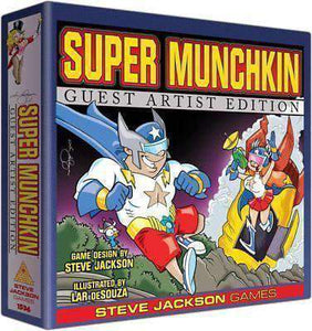 Super Munchkin Retail Card Game Edge Entertainment 0837654322888 KS000690B