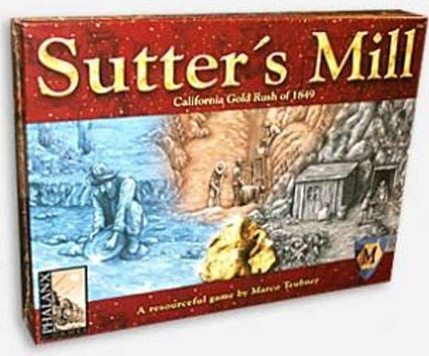 Sutter's Mill: California Gold Rush of 1849 Retail Board Game Mayfair Games Millenium Phalanx Games BV Phalanx Games Deutschland 0029877060823 KS000808