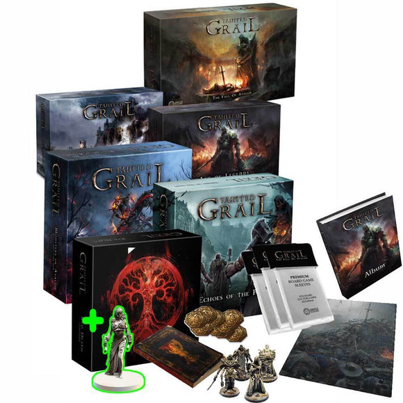 Tainted Grail: The Fall of Avalon Collector's All-In Grail Pledge (Kickstarter Pre-Order Special) Kickstarter Board Game Awaken Realms