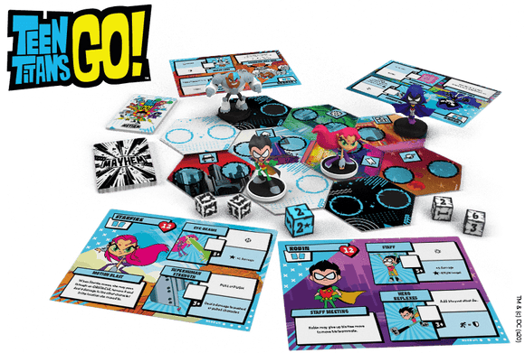 Teen Titans Go! Mayham Pledge Plus Blackfire and Nightwing Bundle (Kickstarter Pre-Order Special) Board Game Geek, Kickstarter Games, Games, Kickstarter Board Games, Board Games, CMON Limited, Teen Titans GO Mayhem, Kickstarter Board Games, Team Based Games Games, Alexio Schneeberger CMON KS001076A