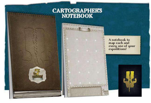 The 7th Continent: Cartographic Notebook (Kickstarter Special) Kickstarter Game Accessory Serious Poulp KS000215E