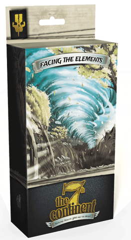 The 7th Continent: Facing the Elements Expansion (Kickstarter Special) Kickstarter Board Game Expansion Serious Poulp KS000215D