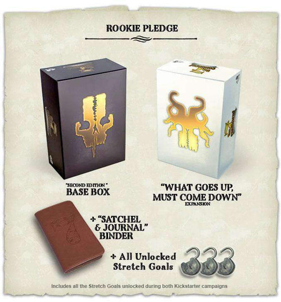 The 7th Continent: Rookie Pledge (Kickstarter Special) Kickstarter Board Game Serious Poulp KS000215F