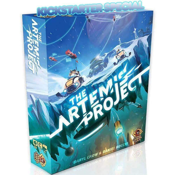 The Artemis Project: Galileo Pledge (Kickstarter Ding & Dent Special) Kickstarter Board Game Grand Gamers Guild KS000937B