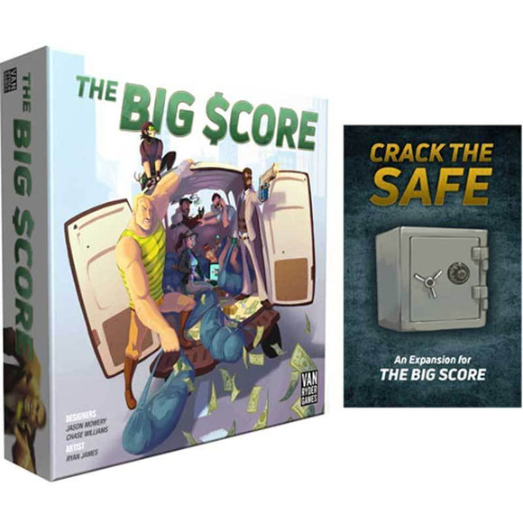 The Big Score: Boss Pledge (Kickstarter Special) Kickstarter Board Game Van Ryder Games