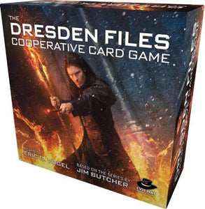 The Dresden Files Cooperative Card Game (Kickstarter Special) Kickstarter Card Game Evil Hat Productions