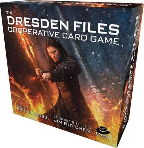 The Dresden Files Cooperative Card Game (Kickstarter Special) Kickstarter Card Game Evil Hat Productions 0817200020000 KS000096