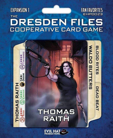 The Dresden Files: Fan Favorites (Kickstarter Special) Kickstarter Board Game Expansion Evil Hat Productions 0817200020024 KS000096B