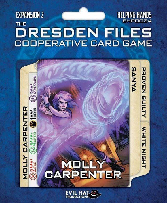 The Dresden Files: Helping Hands (Kickstarter Special) Kickstarter Board Game Expansion Evil Hat Productions
