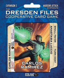 The Dresden Files: Warden's Attack Expansion (Kickstarter Special) Kickstarter Board Game Evil Hat Productions