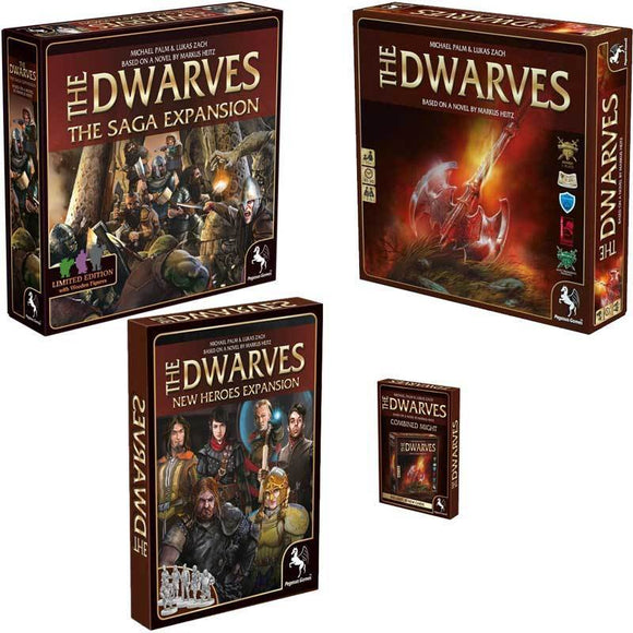 The Dwarves: Hero Quest Pledge (Kickstarter Special) Kickstarter Board Game Expansion Pegasus Spiele
