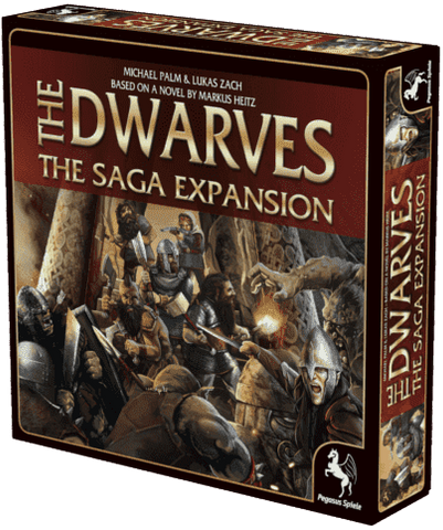 The Dwarves: The Saga Legendary Quest Pledge (Kickstarter Special) Kickstarter Board Game Expansion Pegasus Spiele 4250231710667 KS000295B